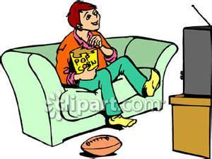 Homework and watching tv